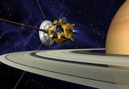 NASA Send Probe To Find Life On Saturn's Moon