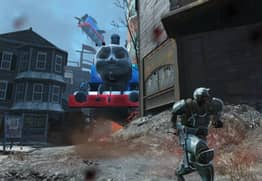 Fallout 4's Thomas The Tank Engine Mod Is Pure Nightmare Fuel