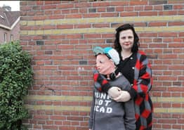 Mother Knits Life-Size Version Of Her Son After He Hits Puberty