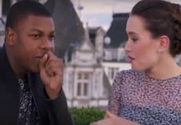 Daisy Ridley and John Boyega Just Released This Cringey Star Wars Rap