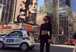Bella Hadid Is Getting Body Shamed For This Nike Campaign