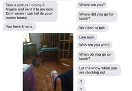 Abused Woman Shares Chilling Texts From Her Husband