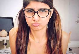 Mia Khalifa Shares Photo Of Her Worst Moment Of 2017