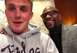 Jake Paul Announces Floyd Mayweather Will Train Him For KSI Fight