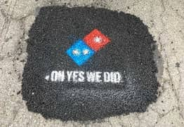 Domino's Are Paving Potholes To Stop Your Pizza From Getting Ruined