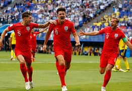 Harry Maguire's Perfect Tweet After Scoring To Take England To The Semi Final