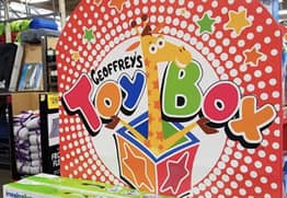 Toys 'R' Us Have Relaunched As Geoffrey's Toy Box
