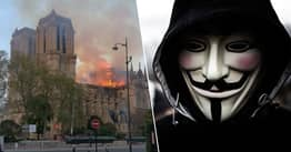 Anonymous Have A Message For The Billionaires Who Donated To Notre Dame