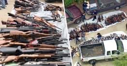 Police Seizing 1000 Guns At LA Mansion 'Not Most Interesting Part Of Raid'
