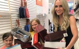 Mom Buys Up All Shoes In Closing Store To Donate Them To Kids In Need