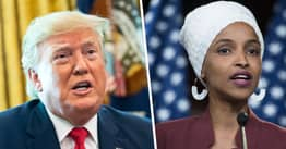 Ilhan Omar Says Trump Is 'Corrupt, Inept And The Worst President We've Ever Had'