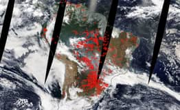 Latest NASA Images From Space Show Just How Bad Amazon Fires Have Become