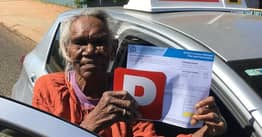 75-Year-Old Great Grandmother Gets Driving Licence So She Can Take Older Sister To Doctors