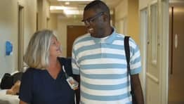 Nurse Adopts Man With Autism So He Can Have Life-Saving Heart Transplant