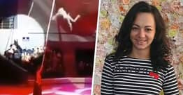 Acrobat Fights For Life After Awkward Landing From 20ft Fall