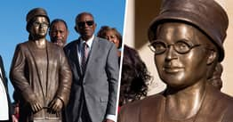 Rosa Parks Statue Unveiled In Montgomery On 64th Bus Arrest Anniversary