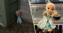 Haunted Elsa Doll Keeps Mysteriously Returning After Texas Family Throws It Out