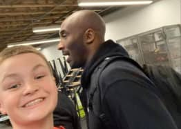 Fan's Blurry Selfie Could Be The Last Picture Ever Taken Of Kobe