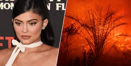 Kylie Jenner Donates $1 Million To Australian Bushfire Victims