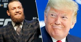 Conor McGregor Thinks Donald Trump Is A 'Phenomenal President'