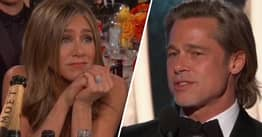Jennifer Aniston Reacts To Brad Pitt's Dating Joke And People Want Them To Get Back Together