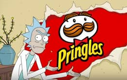 Rick And Morty Get Trapped In Pringles Super Bowl Commercial