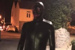 Gimp Suit Man 'Still On The Loose' In Somerset Despite Police Helicopter Search And Two Arrests