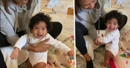 Vanessa Bryant Shares Adorable Video Of 7-Month-Old Daughter Learning To Walk