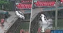 Man Crashes New Car Into River 10 Minutes After Passing Driving Test