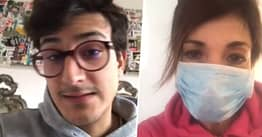 Quarantined Italians Recording Messages To Warn Past Selves Of Reality Of Coronavirus Threat