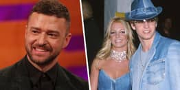 Justin Timberlake Defends His And Britney Spears' Iconic Matching Denim Outfits