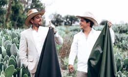 Two Guys In Mexico Successfully Make 'Vegan Leather' Out Of Cacti
