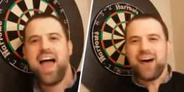 Luke Woodhouse Makes Darts History With Nine-Dart Finish From His Kitchen