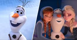 Disney Releasing New Frozen Short Series Called At Home With Olaf