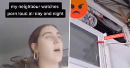 Woman Confronts Noisy Neighbour Who Watches Loud Porn