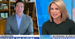 ABC News's Will Reeve Left Mortified After Viewers Pointed Out He Wasn't Wearing Any Trousers With Suit On Good Morning America