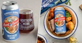 Northern Monk Brewery Creates Roast Dinner-Flavoured Beer With Aunt Bessie's, And People Are Divided
