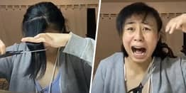 Bored Woman 'Regrets Everything' After Cutting Her Own Bangs