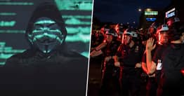 Anonymous Hackers Return With New Video Attacking Police Over George Floyd Killing