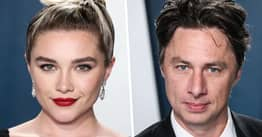 Florence Pugh Defends 21-Year Age Gap With Zach Braff
