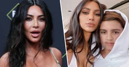 People Are Dragging Kim Kardashian's Facetune For Making Her Look Younger Than Mason