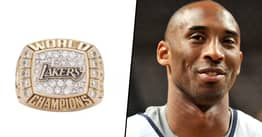 Kobe Bryant's Lakers Ring He Gifted His Mother Sells For $206k