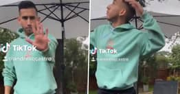 Texas Guy Captures Moment Tree Nearly Falls On Him While Doing Lady Gaga And Ariana Grande TikTok Dance