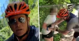 Maryland Cyclist Charged With Assaulting Teenagers Putting Up George Floyd Flyers