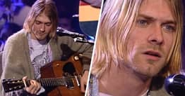 Kurt Cobain's Guitar From MTV Unplugged Just Sold For Record-Breaking Figure