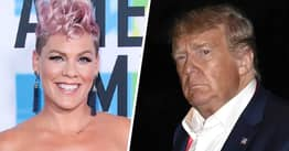 P!nk Roasts Trump Over Half-Empty Rally As Thousands Don't Turn Up