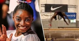 Simone Biles Just Pulled Off Gymnastics Move That's Never Been Done Before