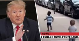 Twitter Flags Trump Over Fake Video Of Black Child Running From 'Racist Baby'