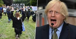 Boris Johnson Won't Take The Knee For Black Lives Matter Because He 'Doesn't Believe In Gestures'