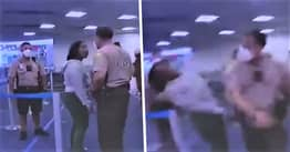 Two Miami Cops Relieved Of Duty After Video Shows Woman Being Punched And Tackled